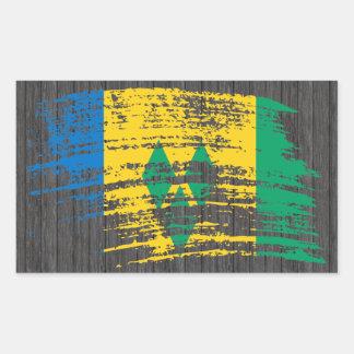 Cool Vincentian flag design Sticker