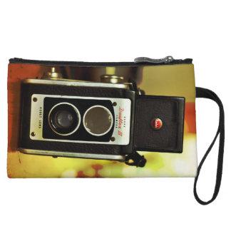 Cool Vintage Antique Camera Wristlet