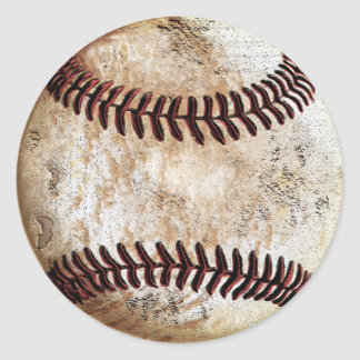 Cool Vintage Baseball Stickers Blank or Add Text