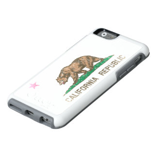 Cool Vintage Fade California Republic Flag OtterBox iPhone 6/6s Case