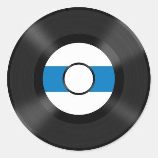Cool Vinyl record music fun sticker
