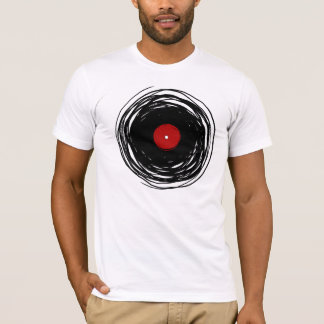 Cool Vinyl Record Vintage Retro T Shirt