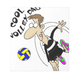 COOL VOLLEY DAD NOTEPADS