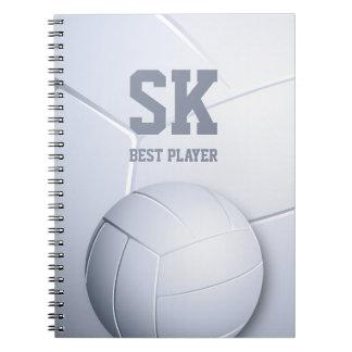 Cool Volleyball Best Player | Sport Gift Notebook