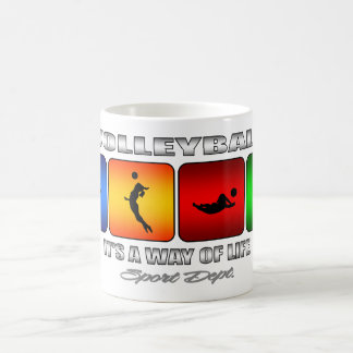 Cool Volleyball It Is A Way Of Life Coffee Mug