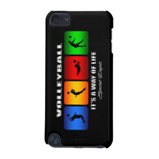 Cool Volleyball It Is A Way Of Life iPod Touch (5th Generation) Covers