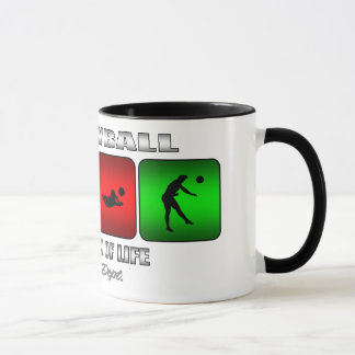 Cool Volleyball It Is A Way Of Life Mug
