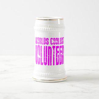 Cool Volunteers + Pink Worlds Coolest Volunteer Mugs
