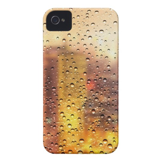 Cool water drops background texture design Case-Mate iPhone 4 case