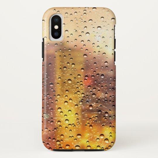 Cool water drops background texture design HTC vivid / raider 4G case