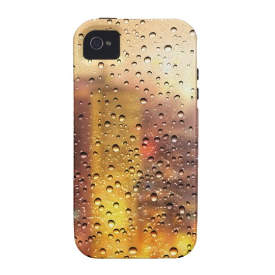 Cool water drops background texture design iPhone 4/4S case