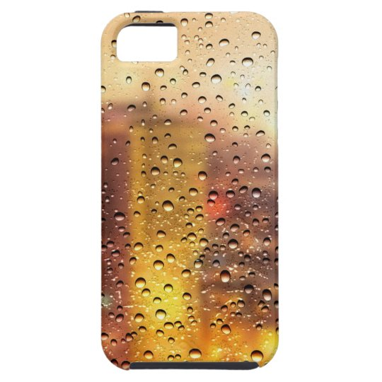 Cool water drops background texture design iPhone 5 case