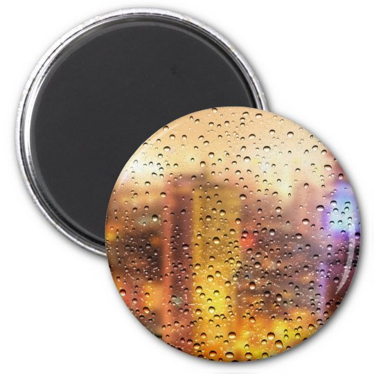 Cool water drops background texture design magnet