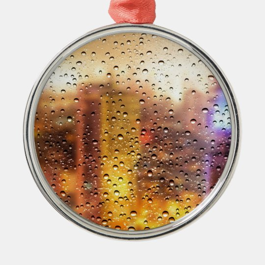 Cool water drops background texture design metal ornament