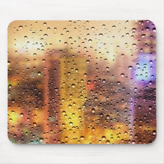Cool water drops background texture design mouse pad