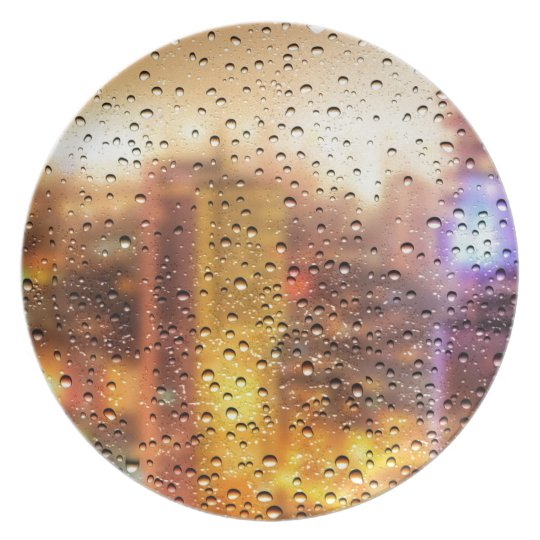 Cool water drops background texture design plate