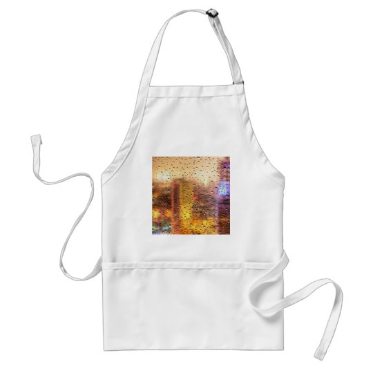 Cool water drops background texture design standard apron