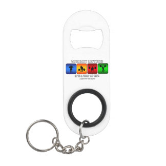Cool Weight Lifting It Is A Way Of Life Mini Bottle Opener