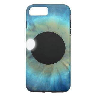 Cool Weird eyePhone Blue Eye Iris Closeup Eyeball Case-Mate iPhone Case