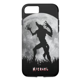 Cool Werewolf Full Moon Transformation iPhone 7 Case