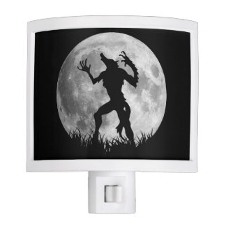 Cool Werewolf Full Moon Transformation Nite Light