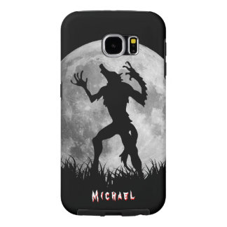 Cool Werewolf Full Moon Transformation Samsung Galaxy S6 Cases