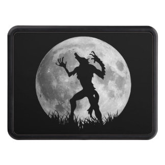 Cool Werewolf Full Moon Transformation Trailer Hitch Cover