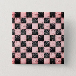 Cool white and Pink marble stone texture button
