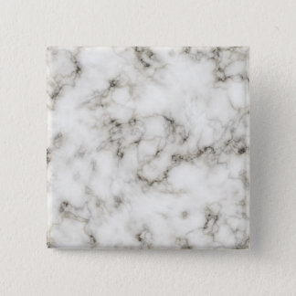 Cool white marble stone texture square button