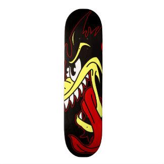 Cool Wolf Skateboard