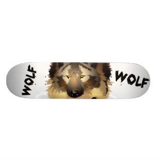 Cool Wolf Skateboard Deck