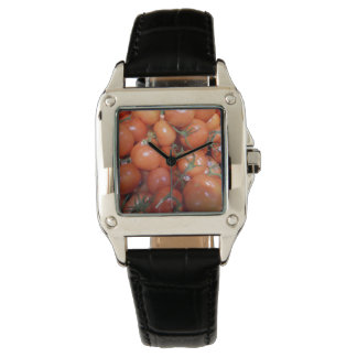 """Cool woman's perfect square """"Tomato"""" watch"""