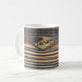 COOL Wood Grain Pattern Coffee Mug