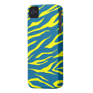 Cool Yellow/Green Tiger Print - iPhone 4/4s Case
