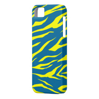 Cool Yellow/Green Tiger Print - iPhone 5 Case