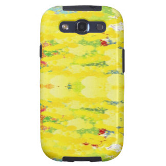 Cool Yellow Modern Pop Abstract Galaxy S3 Covers