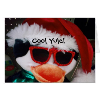 COOL YULE RAD NEW YEAR DUDE GREETING CARDS