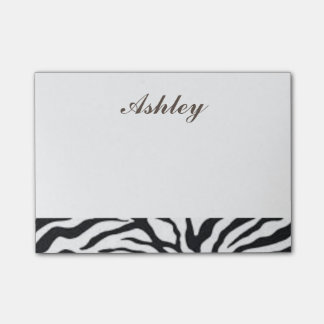 Cool Zebra Print Post-it Notes