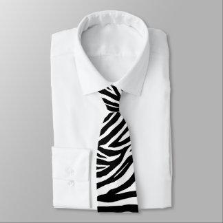 Cool Zebra Stripes Necktie