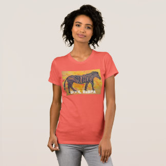 Cool Zebra T-Shirt