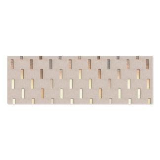 Cool Zen Pattern Stylish Modern Minimalist Pack Of Skinny Business Cards