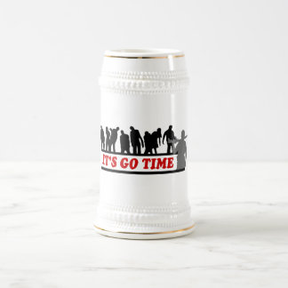 Cool ZOMBIES It's go time design Beer Stein
