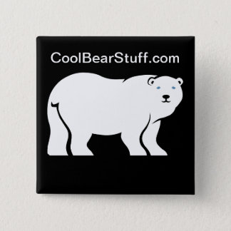 CoolBearStuff.com 2 Inch Square Button