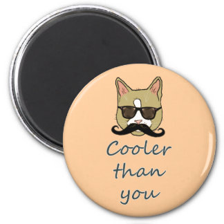 Cooler than you magnet