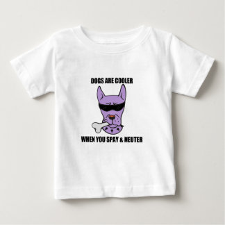 Cooler When U Neuter Baby Shirt