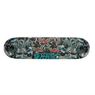 #Cooles graffiti skateboard deck