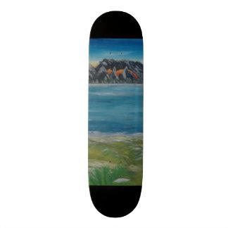 #Cooles skateboard deck with Berglanschaft