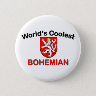 Coolest Bohemian 2 Inch Round Button
