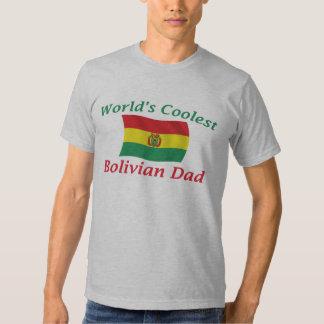 Coolest Bolivian Dad Tee Shirt