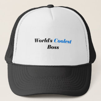 Coolest Boss Trucker Hat
